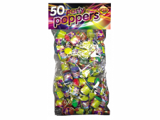 51402 Party Poppers 50 Piece