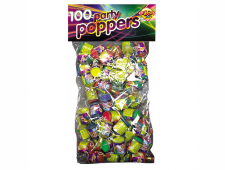 51403 Party Poppers 100 Piece