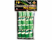 51450 Green Holo Poppers
