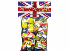 51455 Union Jack Poppers 20 Piece